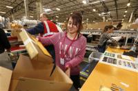 Niemcy praca przy pakowaniu, kontroli jakości na magazynie Frankfurt nad Menem