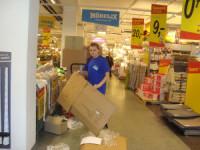 Oferta fizycznej pracy w Niemczech przy wykładaniu towaru w sklepie Berlin