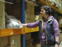 Niemcy praca na magazynie z zabawkami przy pakowaniu Frankfurt