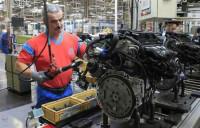 Praca Niemcy przy montażu na linii produkcyjnej części od zaraz Landau