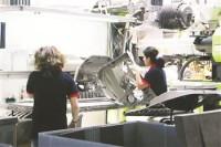 Niemcy praca na produkcji przy montażu części samochodowych Ingolstadt
