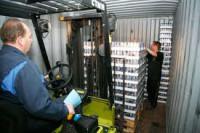 Rozładunek i załadunek kontenerów fizyczna praca Niemcy w Saarland