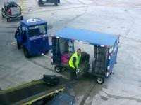 Dam fizyczną prace w Niemczech jako pracownik obsługi lotniska, bagażowy Monachium