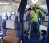 Praca Niemcy od zaraz sprzątanie samolotów na lotnisku bez języka Stuttgart