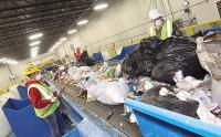 Dam fizyczną pracę w Niemczech przy recyklingu bez języka sortowanie odpadów