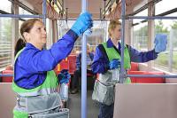 Niemcy praca bez znajomości języka sprzątanie autobusów Frankfurt nad Menem