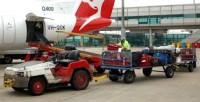 Praca Niemcy z językiem angielskim przy rozładunku bagaży lotnisko München