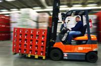 Niemcy praca operator wózka widłowego na magazynie napojów bez języka Essen