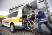 Ogłoszenie pracy w Niemczech przy przewozie osób dla kierowcy kat.B Drezno