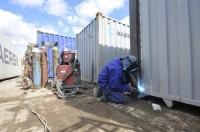 Ślusarz-Spawacz Niemcy praca w przemyśle bez języka przy naprawie kontenerów, Bremerhaven