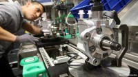 Erfurt, Niemcy praca na produkcji części samochodowych operator maszyn frezarskich