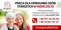 Opiekunka dla starszej Pani z Kolonii, praca w Niemczech od stycznia 2018