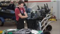 Niemcy praca jako mechanik – mechatronik przy naprawie motorówek, Allensbach