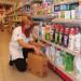 wykladanie towaru w sklepie drogeryjnym 2018