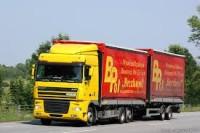 Berlin, praca Niemcy jako kierowca ciężarówki kat. CE, tandemy (system BDF)