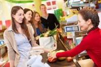 Sezonowa praca w Niemczech jako kasjerka w supermarkecie, Rostock 2018