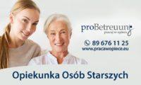 Opiekunka osób starszych – oferta pracy w Niemczech do Pani 72 l. z Beverstedt