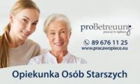 Niemcy praca dla opiekunki osób starszych w Bremen do Pani 72 lata z demencją