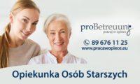 Praca w Niemczech dla opiekunki osób starszych do małżeństwa z okolic Hanoweru