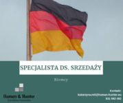 Dam pracę w Niemczech jako specjalista ds.sprzedaży Monachium, Augsburg