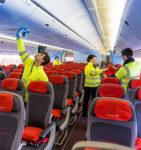 Bez języka oferta pracy w Niemczech od zaraz sprzątanie samolotów, Frankfurt nad Menem